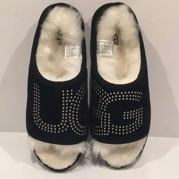 4f581866988 UGG Slide Stud Slippers NWT
